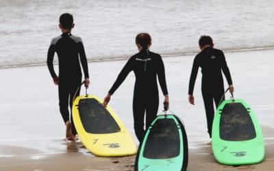 Création de la SG école de surf