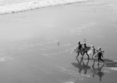 SG Surf - banniere famille plage