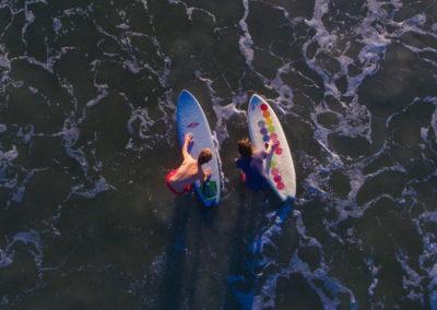 SG Surf - surfeur vue ciel