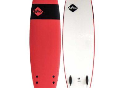 SG Surf - planche de surf softech rouge