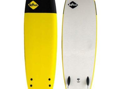 SG Surf - planche de surf softech jaune