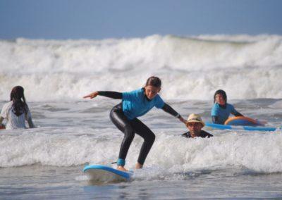 cours de surf débutant saint gilles